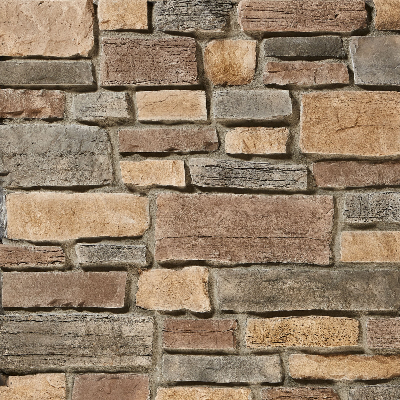 Aspen Weather Edge Rubble Stone Veneer from Environmental StoneWorks