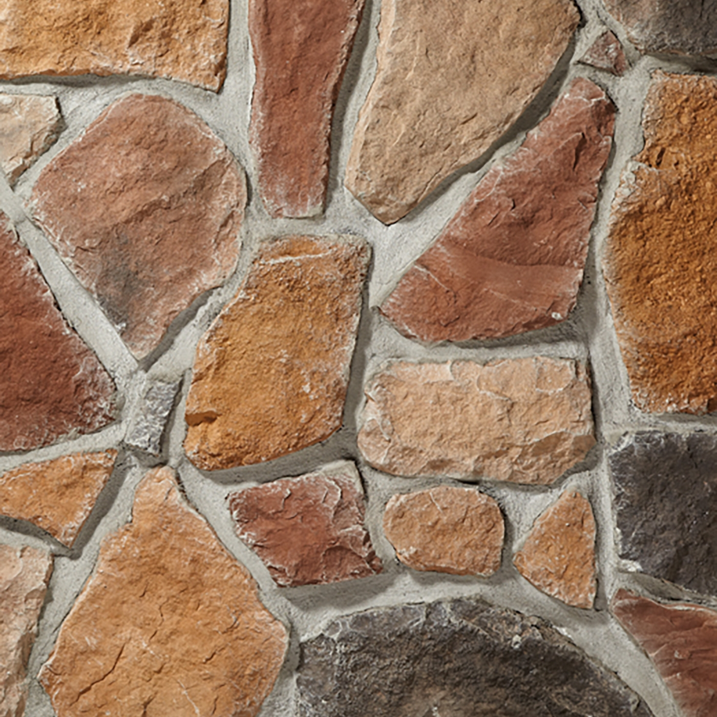 Autumn Blend Fieldstone Stone Veneer from Environmental StoneWorks