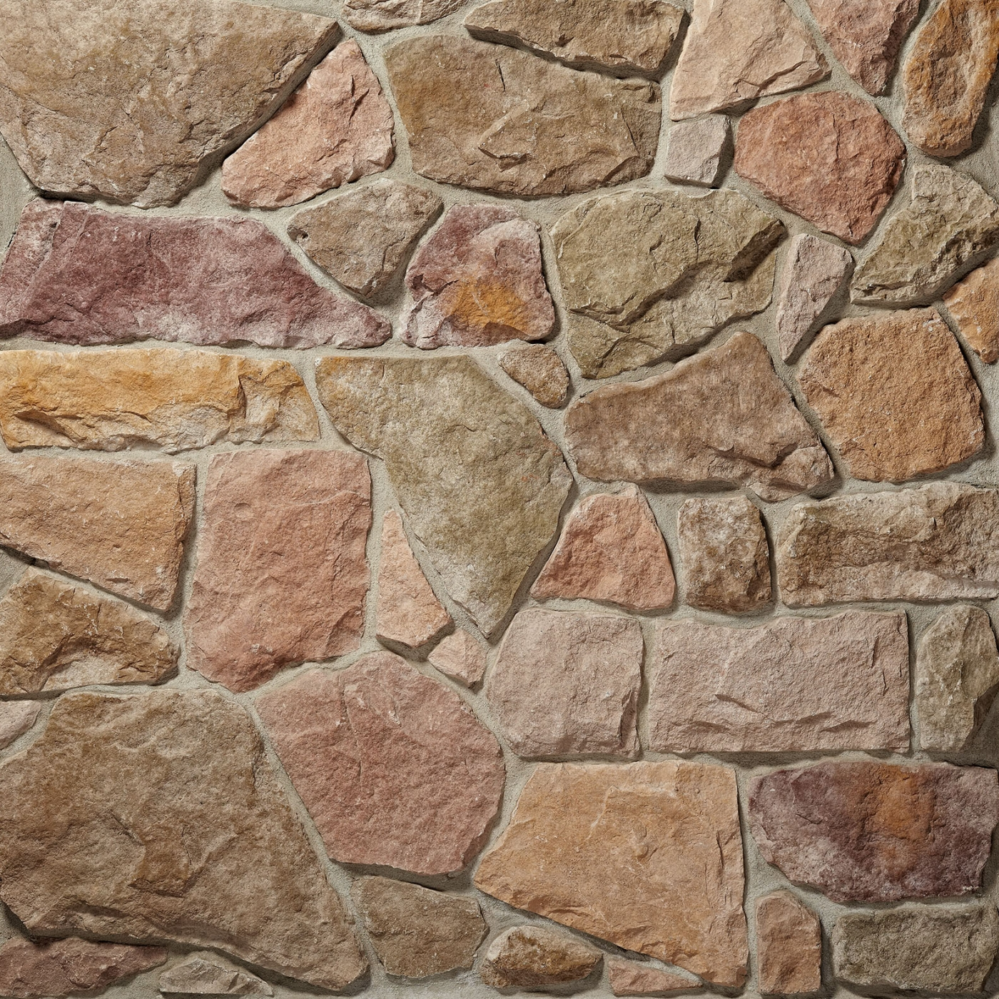 Autumn/Buckeye (50%/50%) Fieldstone Stone Veneer from Environmental StoneWorks