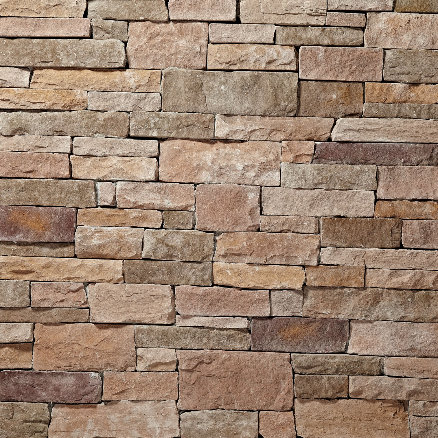Autumn/Buckeye (50%/50%) Ledgestone Stone Veneer from Environmental StoneWorks