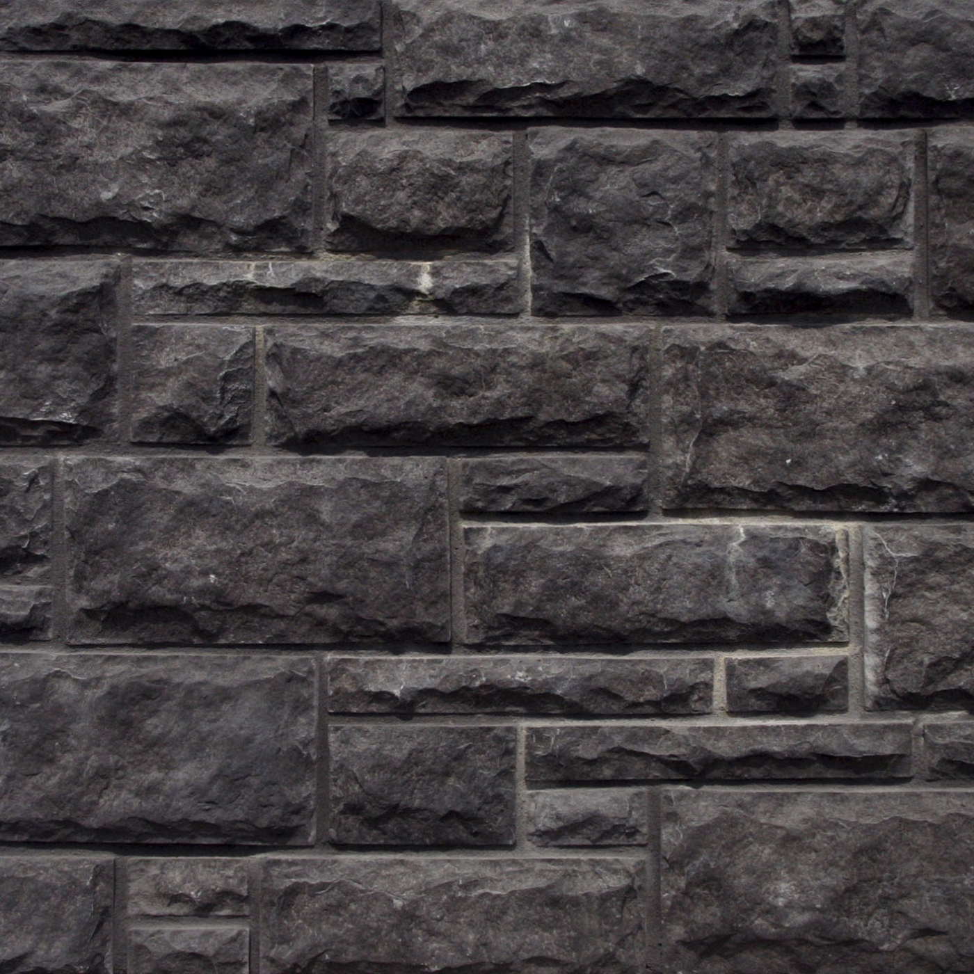Black Castle Rock Cut Stone Stone Veneer from Environmental StoneWorks