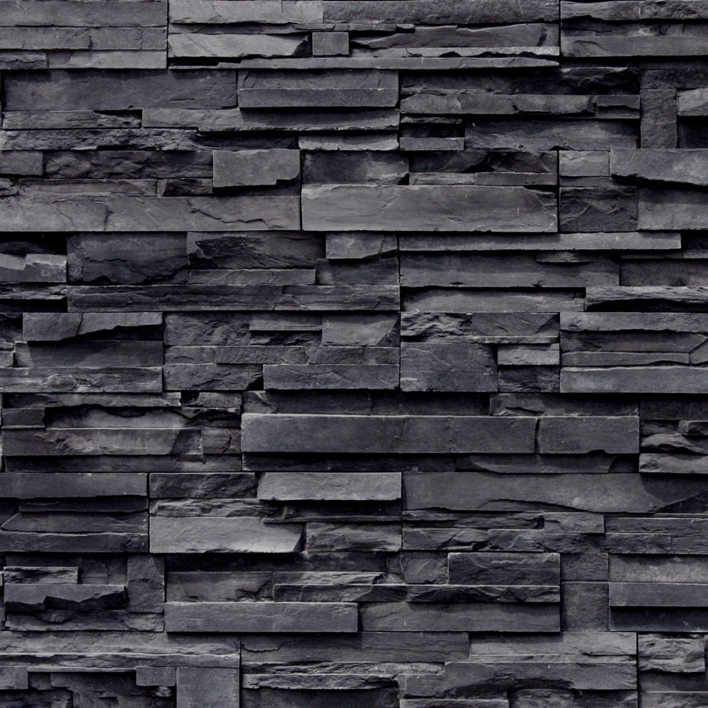 Black ProStack Lite Stone Veneer from Environmental StoneWorks
