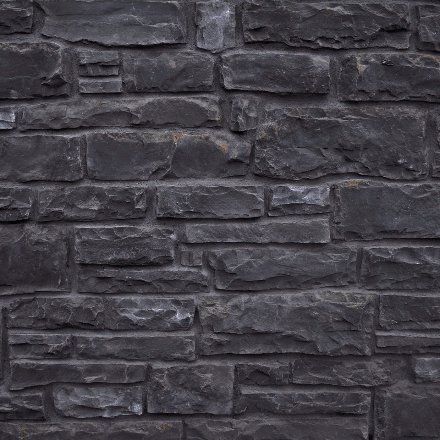 Black Rundle Country Squire Cut Stone MW Stone Veneer from Environmental StoneWorks