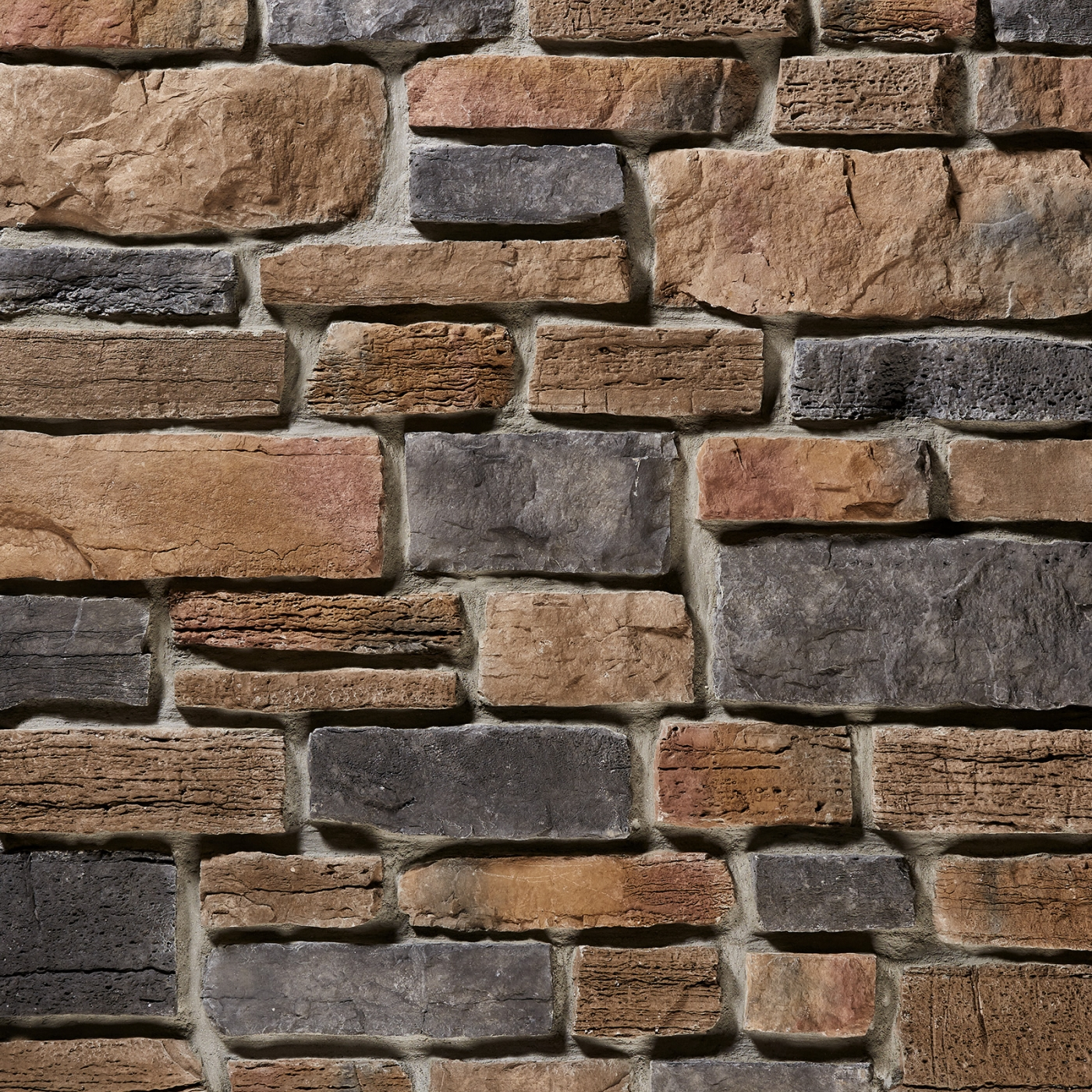 Bronze Weather Edge Ledgestone Stone Veneer from Environmental StoneWorks