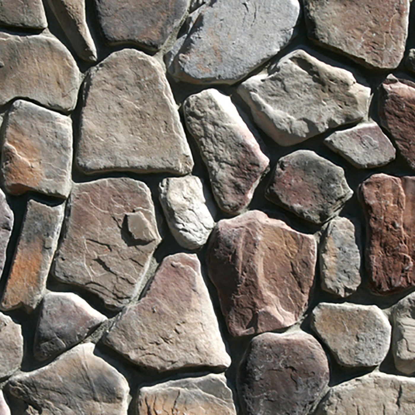 Bucks County Linville River Rock Stone Veneer from Environmental StoneWorks