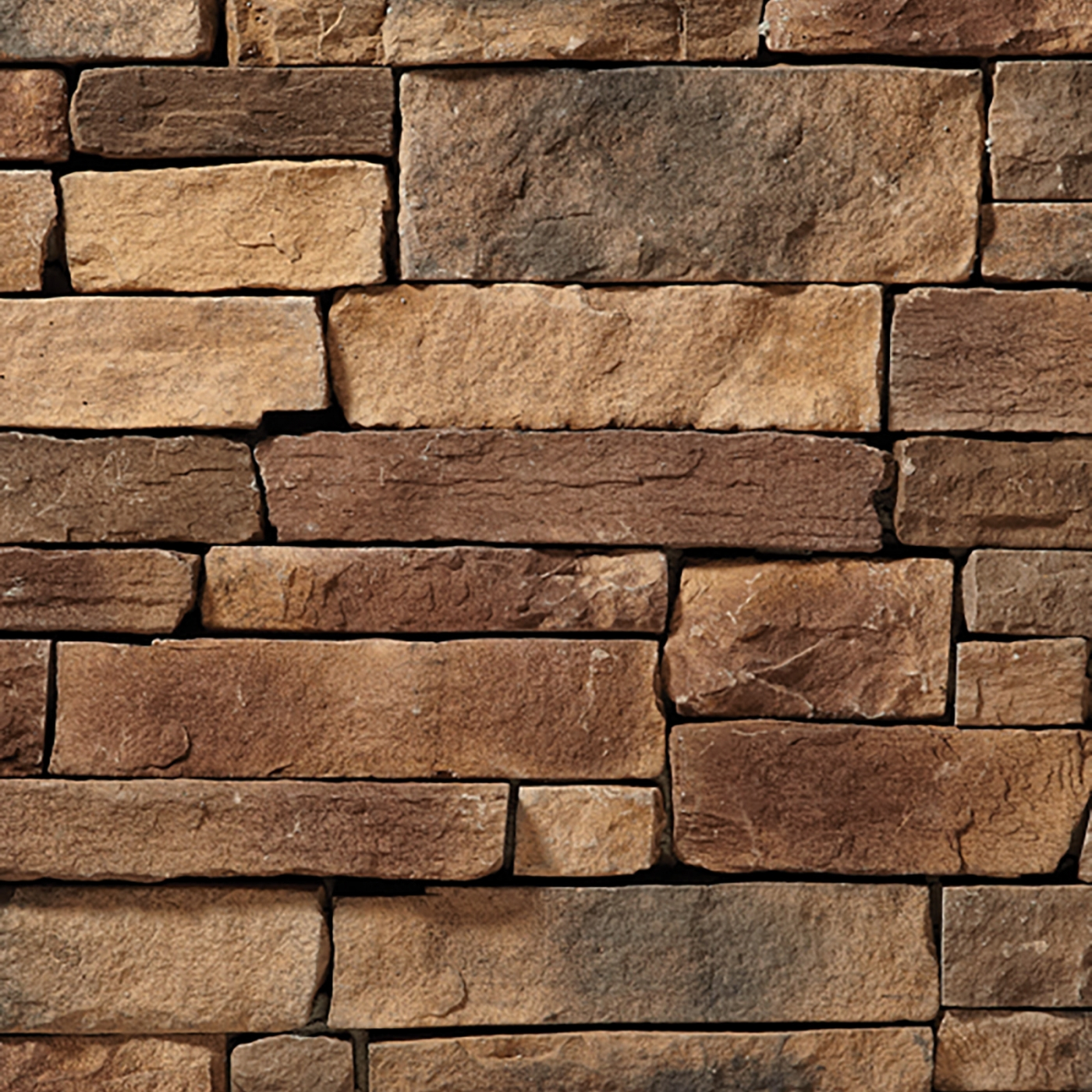 Buckskin Mountain Ledgestone Stone Veneer from Environmental StoneWorks