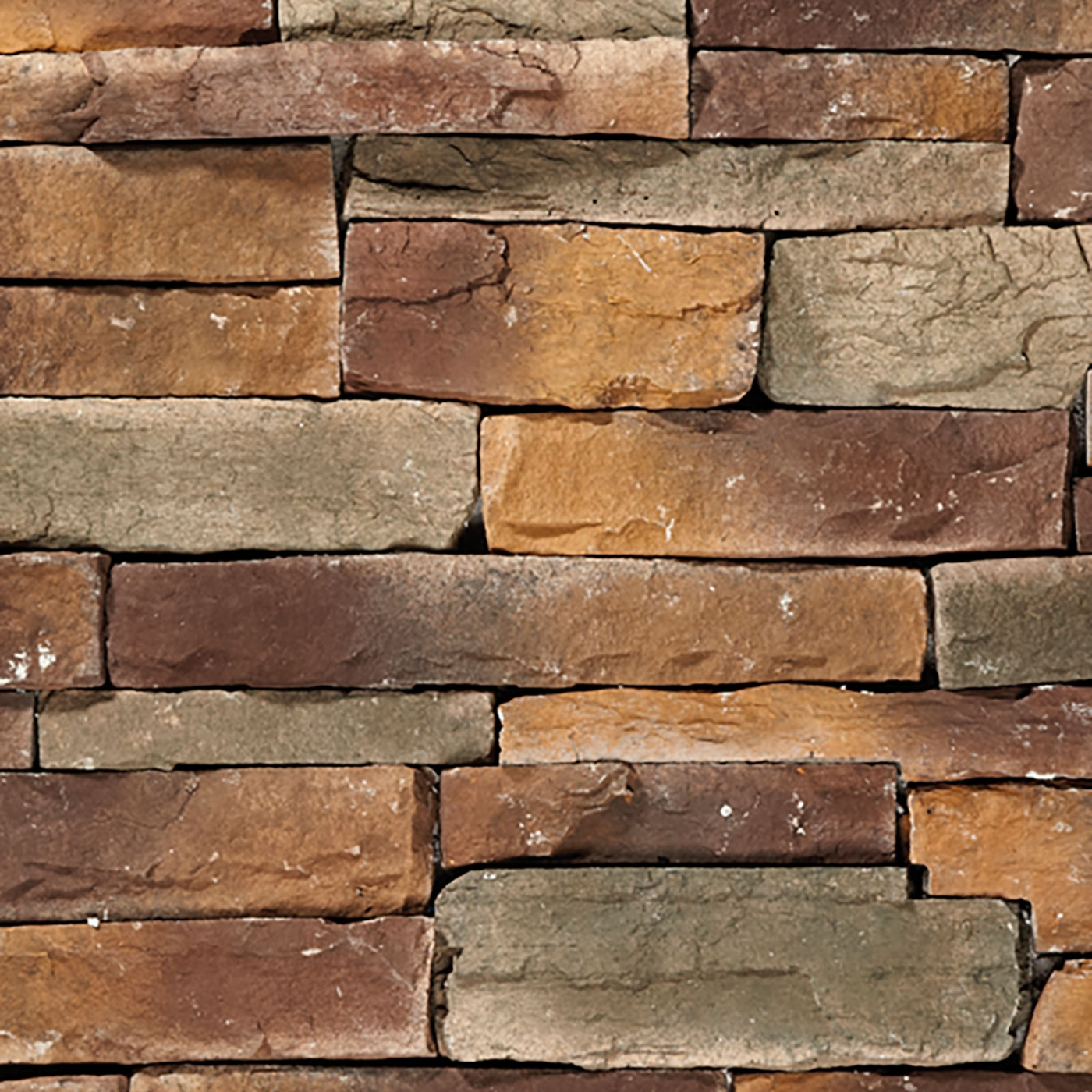 Buffalo Gold Mountain Ledgestone Stone Veneer from Environmental StoneWorks