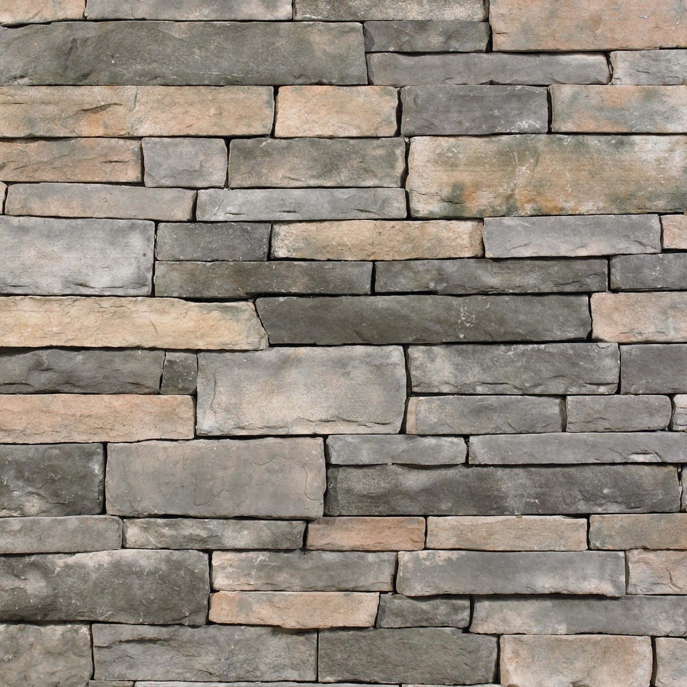 Bull Run Ledgestone Stone Veneer from Environmental StoneWorks