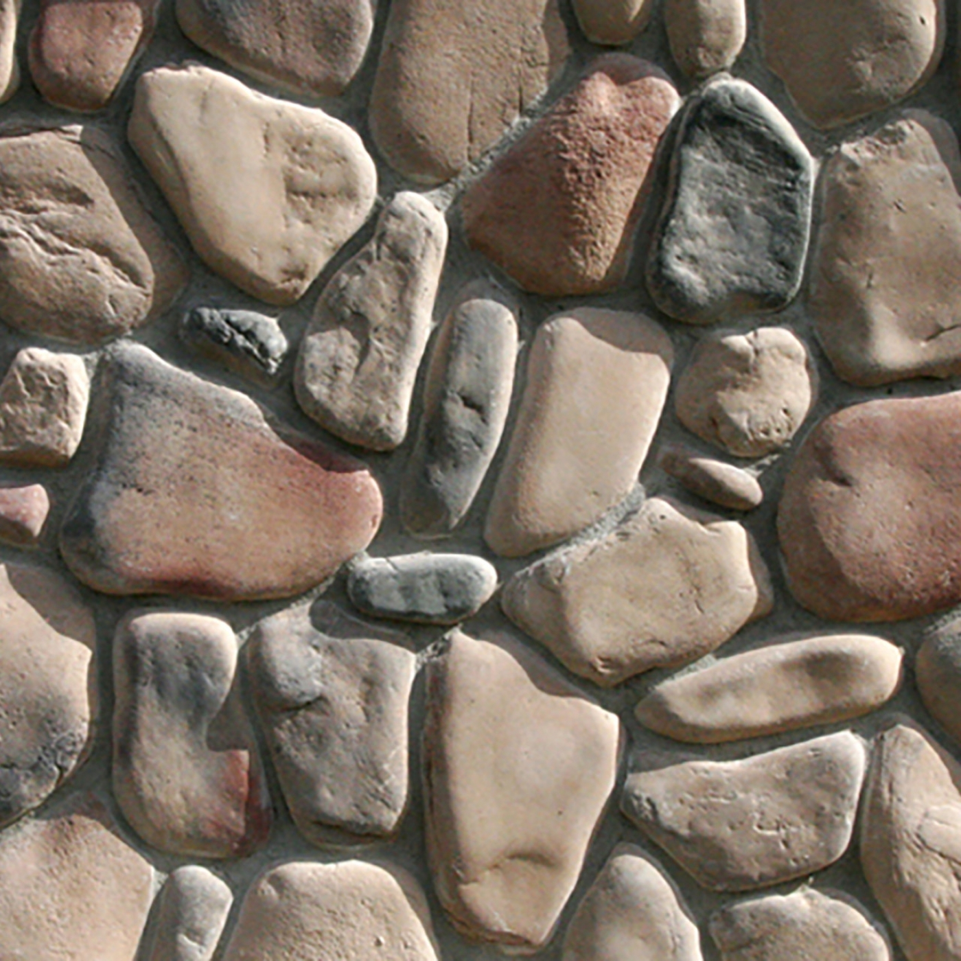 Cedar Creek Rocky Mountain River Rock Stone Veneer from Environmental StoneWorks