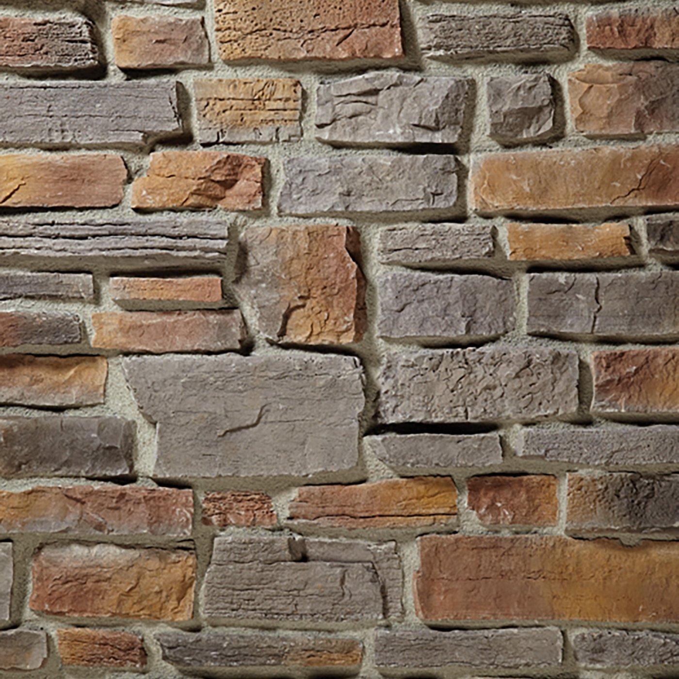 Cessna Grey Weather Edge Ledgestone Stone Veneer from Environmental StoneWorks