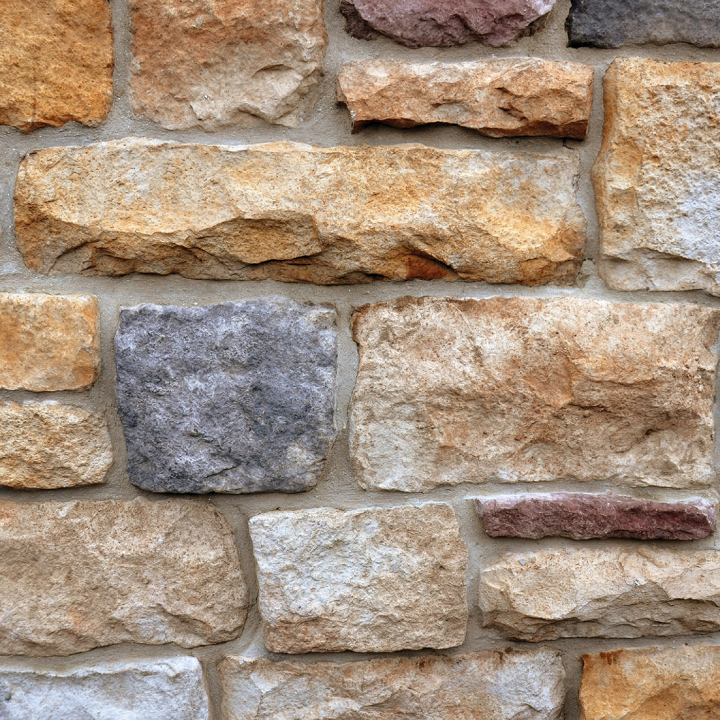 Champagne Cut Stone Stone Veneer from Environmental StoneWorks