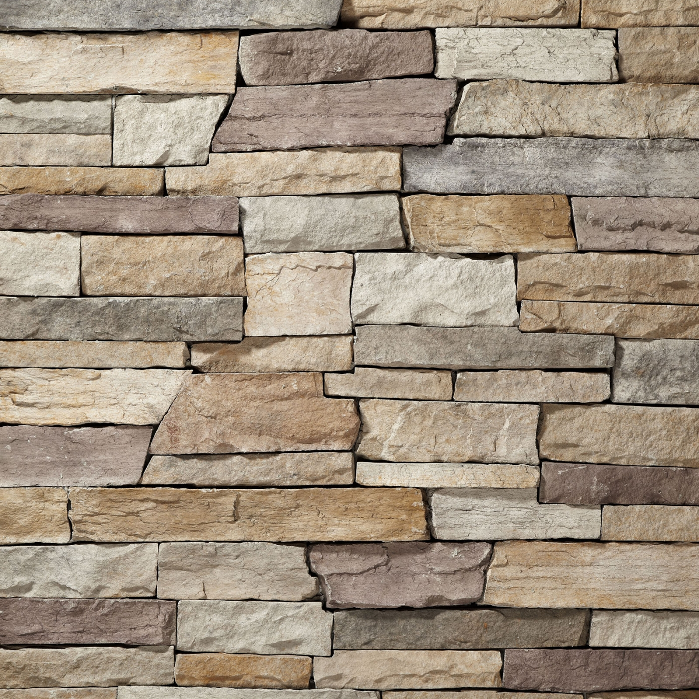 Champagne Mountain Ledgestone Stone Veneer from Environmental StoneWorks