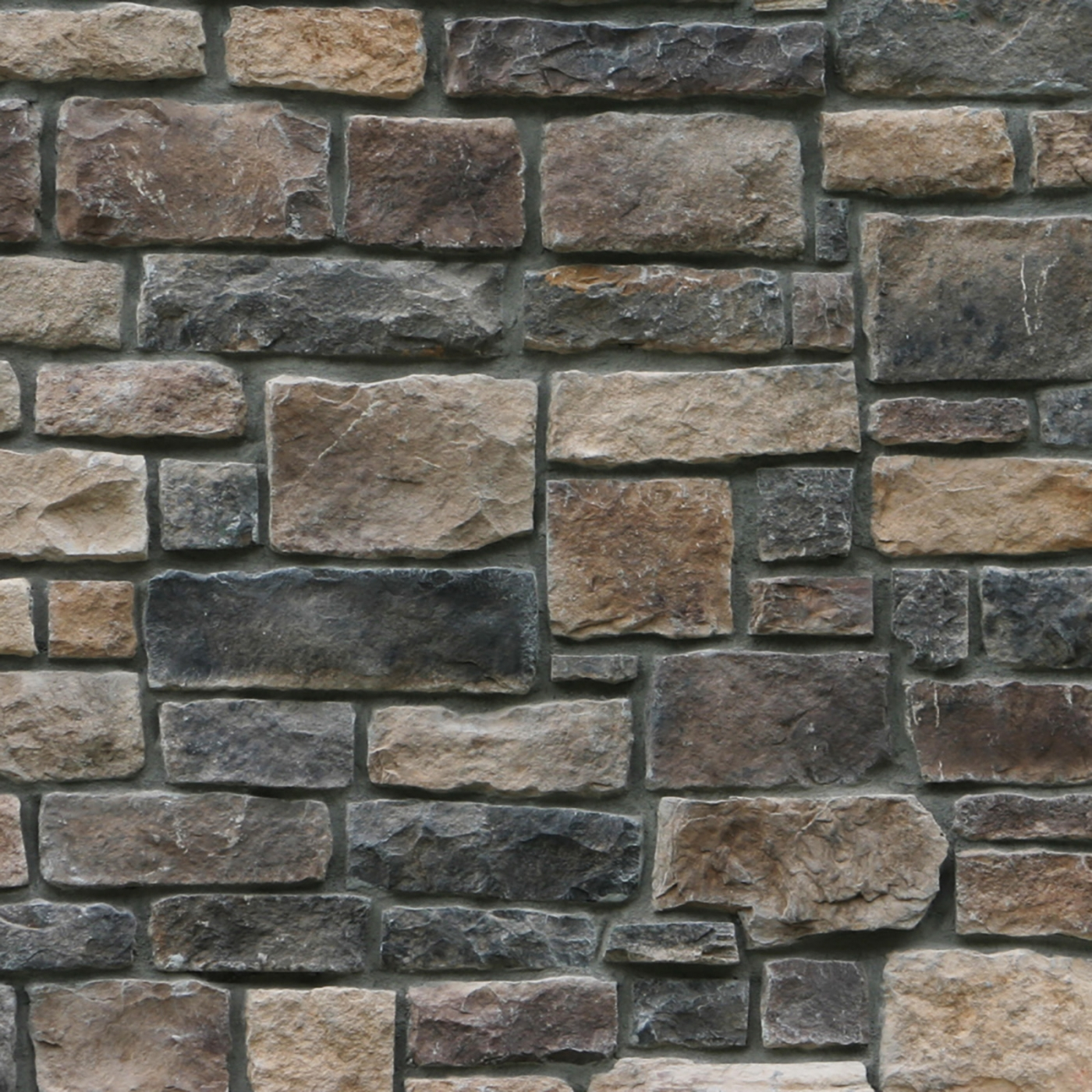 Columbia Cobble Blend Stone Veneer from Environmental StoneWorks