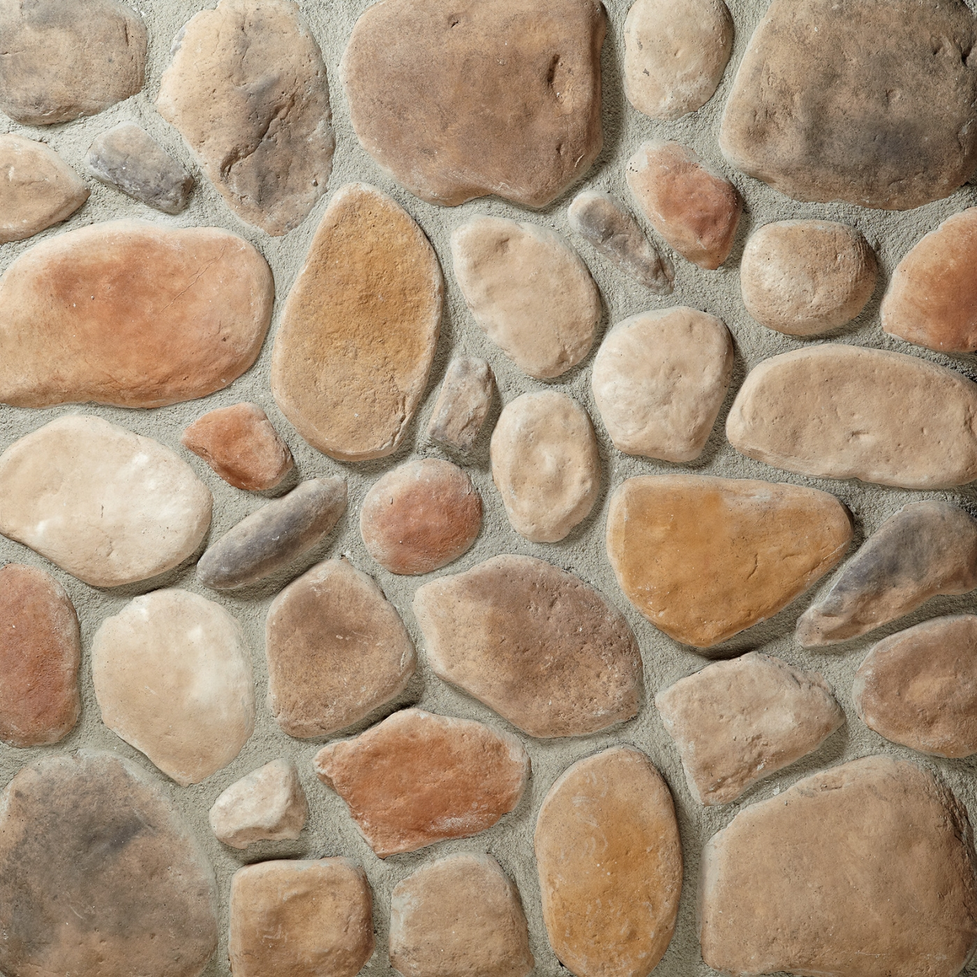 Creekside River Rock Stone Veneer from Environmental StoneWorks