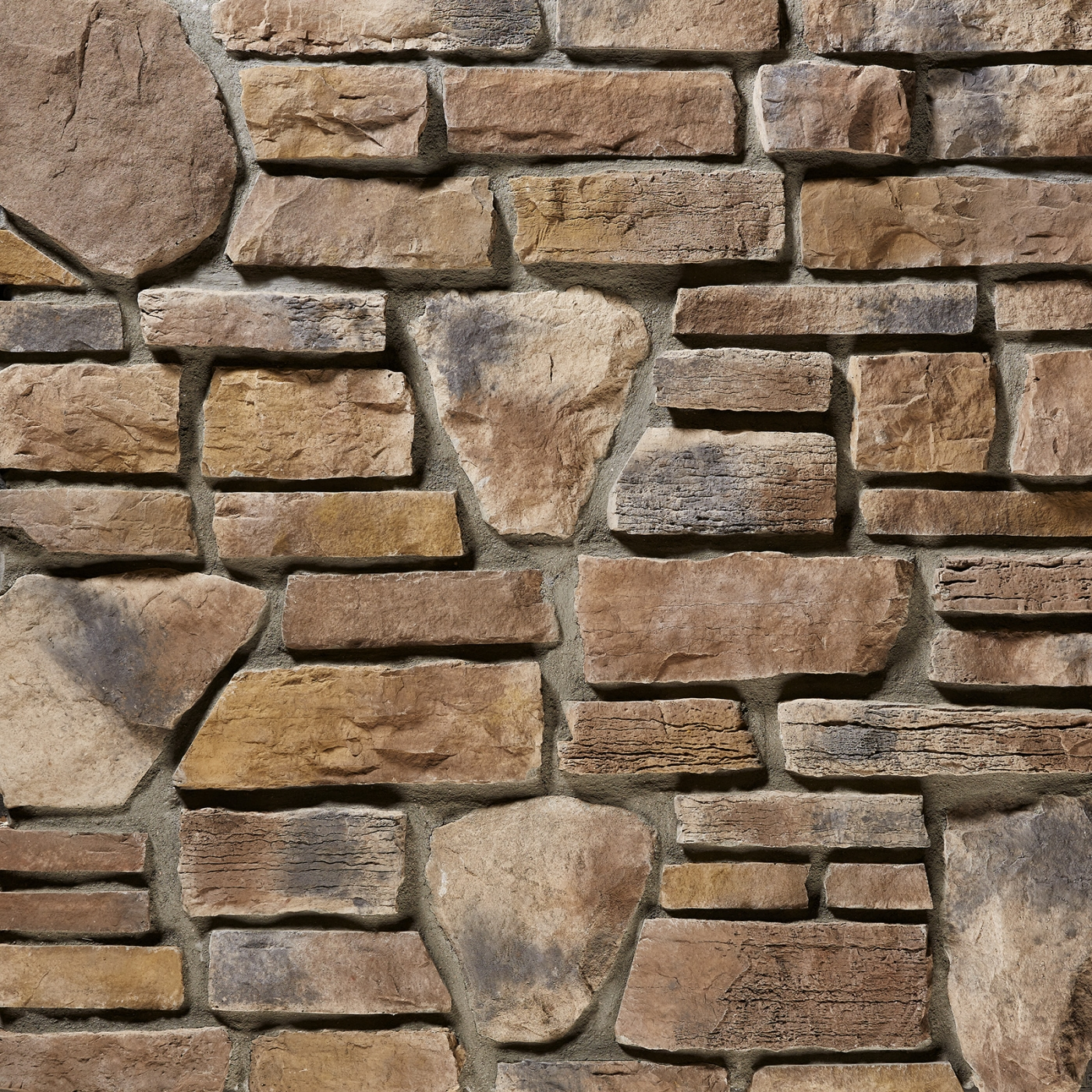 Georgia Bayou Blend Stone Veneer from Environmental StoneWorks