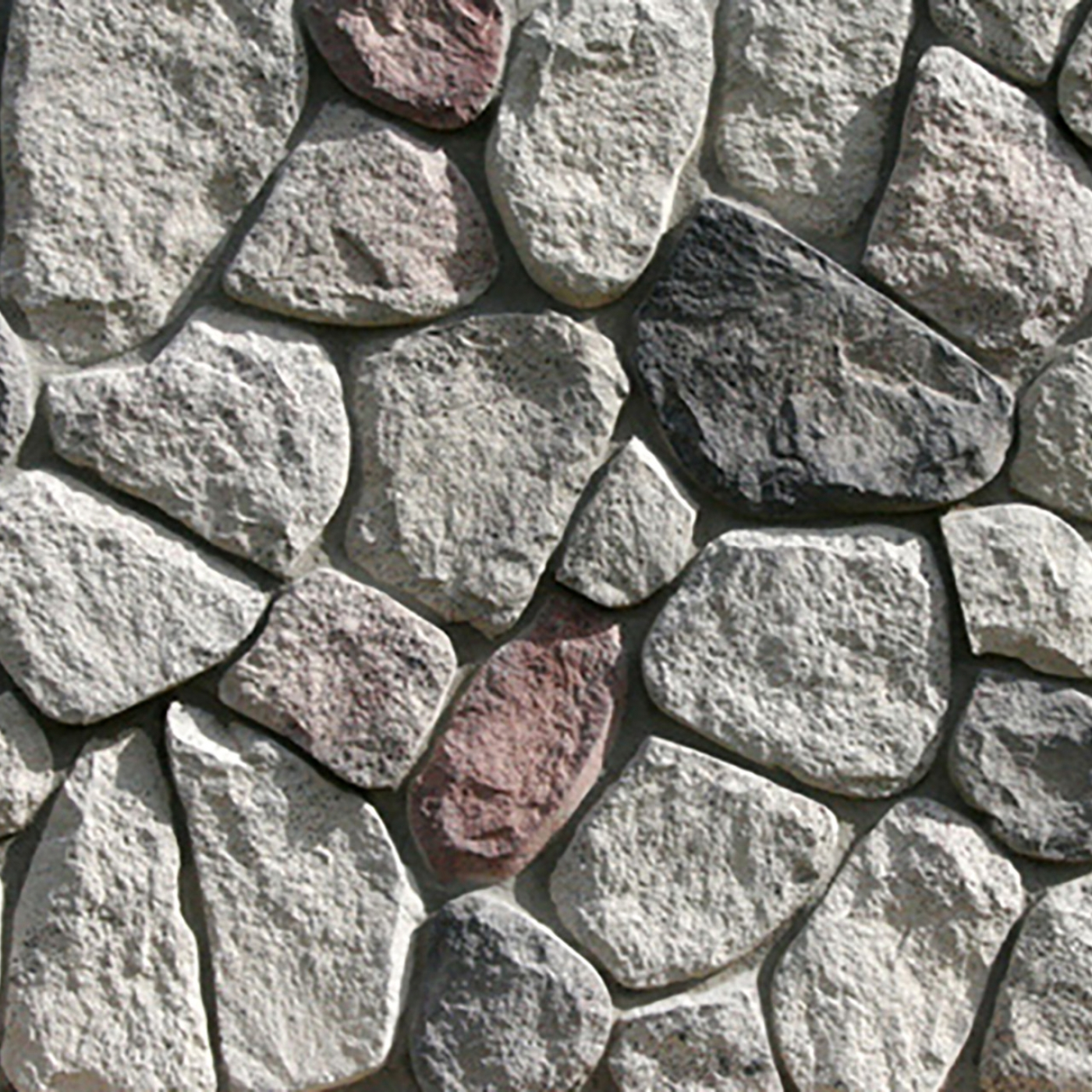 Great Lakes Splitface Fieldstone Stone Veneer from Environmental StoneWorks