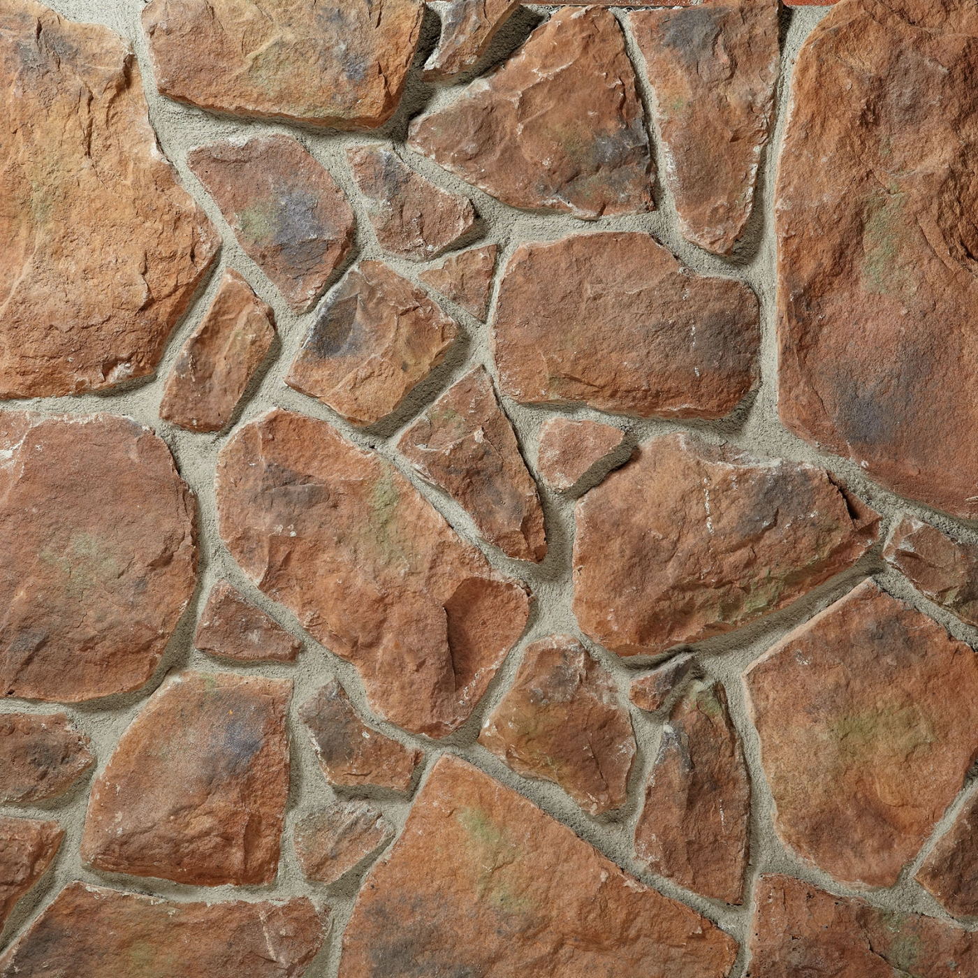 High Country Moss Fieldstone Stone Veneer from Environmental StoneWorks