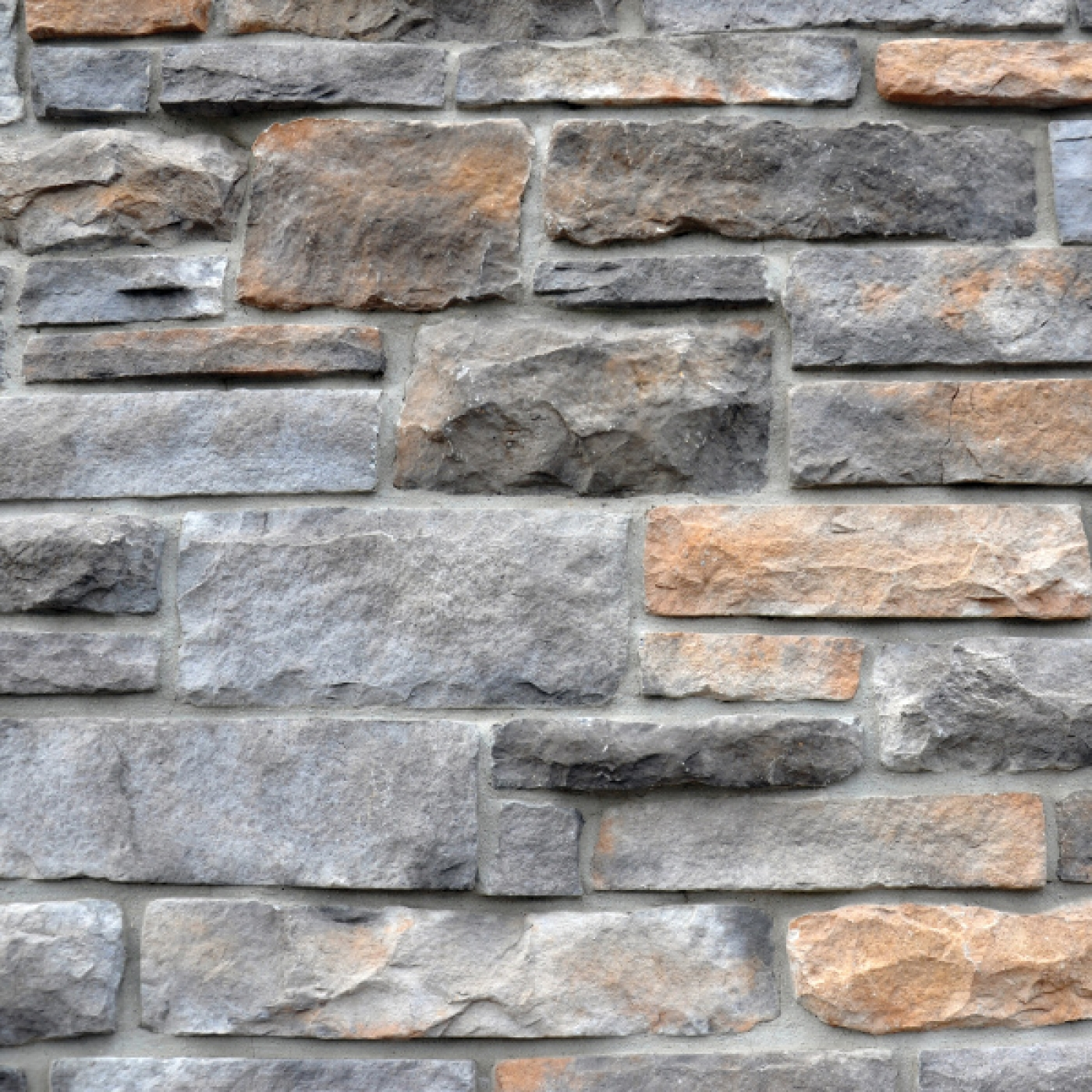 Kentucky Cobble Ledgestone Stone Veneer from Environmental StoneWorks