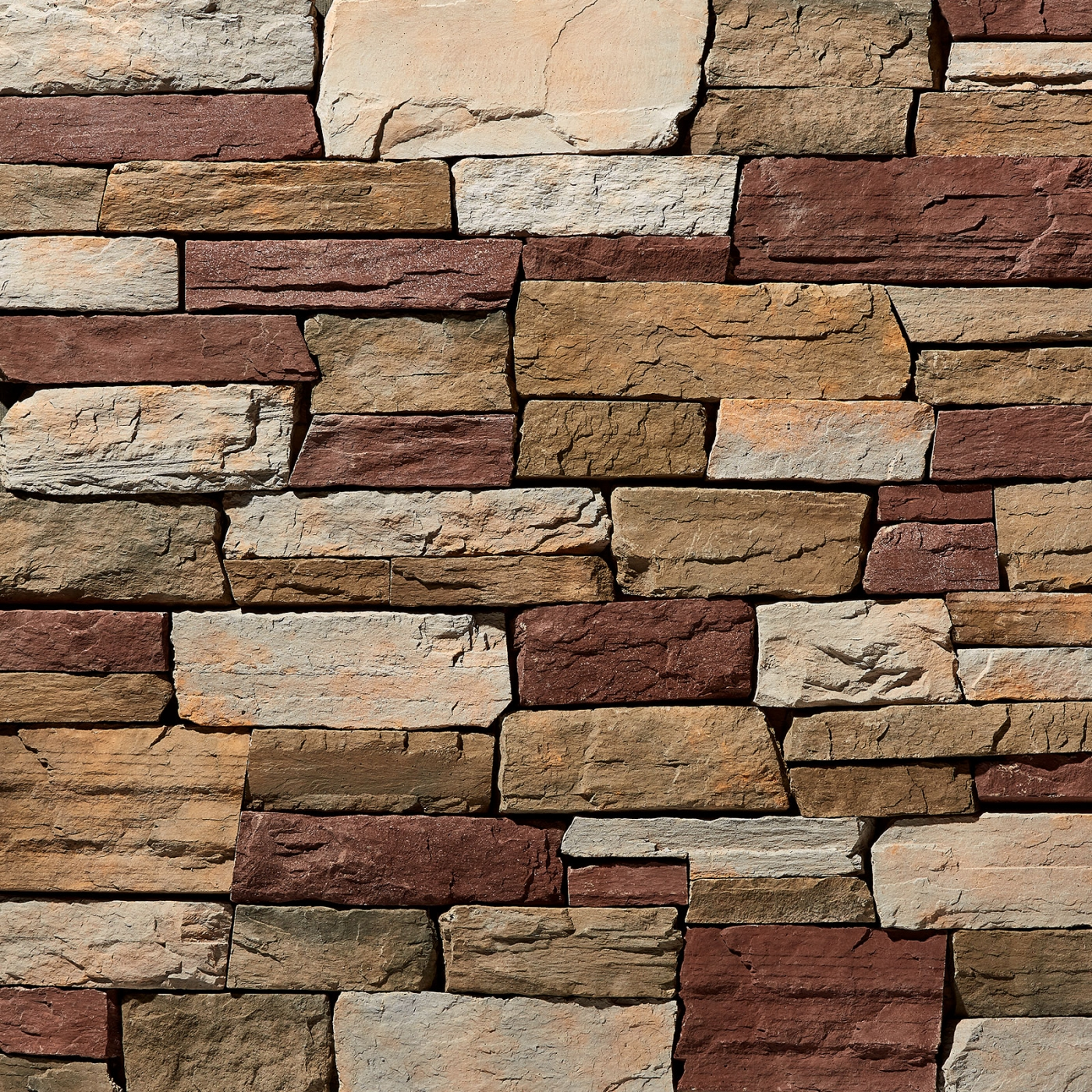 Kern County Tuscan Ledgestone Stone Veneer from Environmental StoneWorks