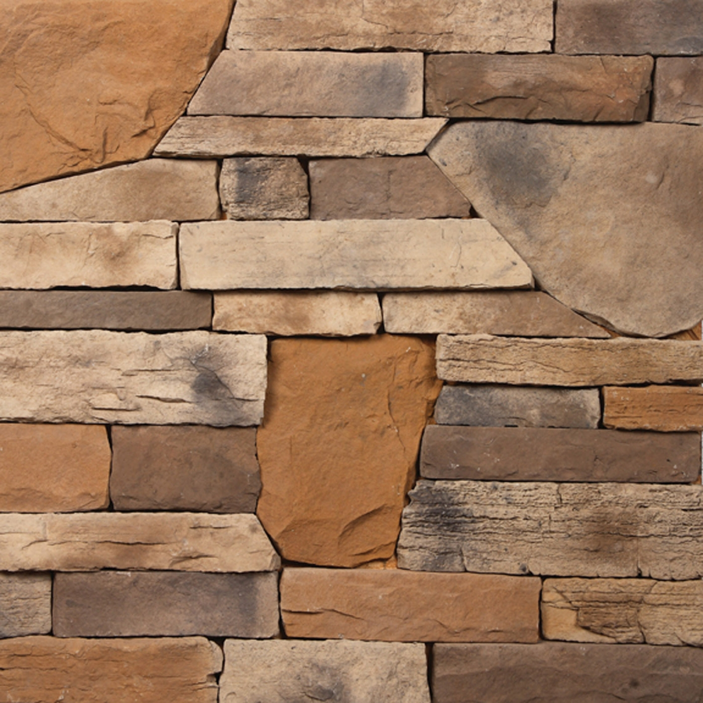 Mississippi Bayou Blend Stone Veneer from Environmental StoneWorks