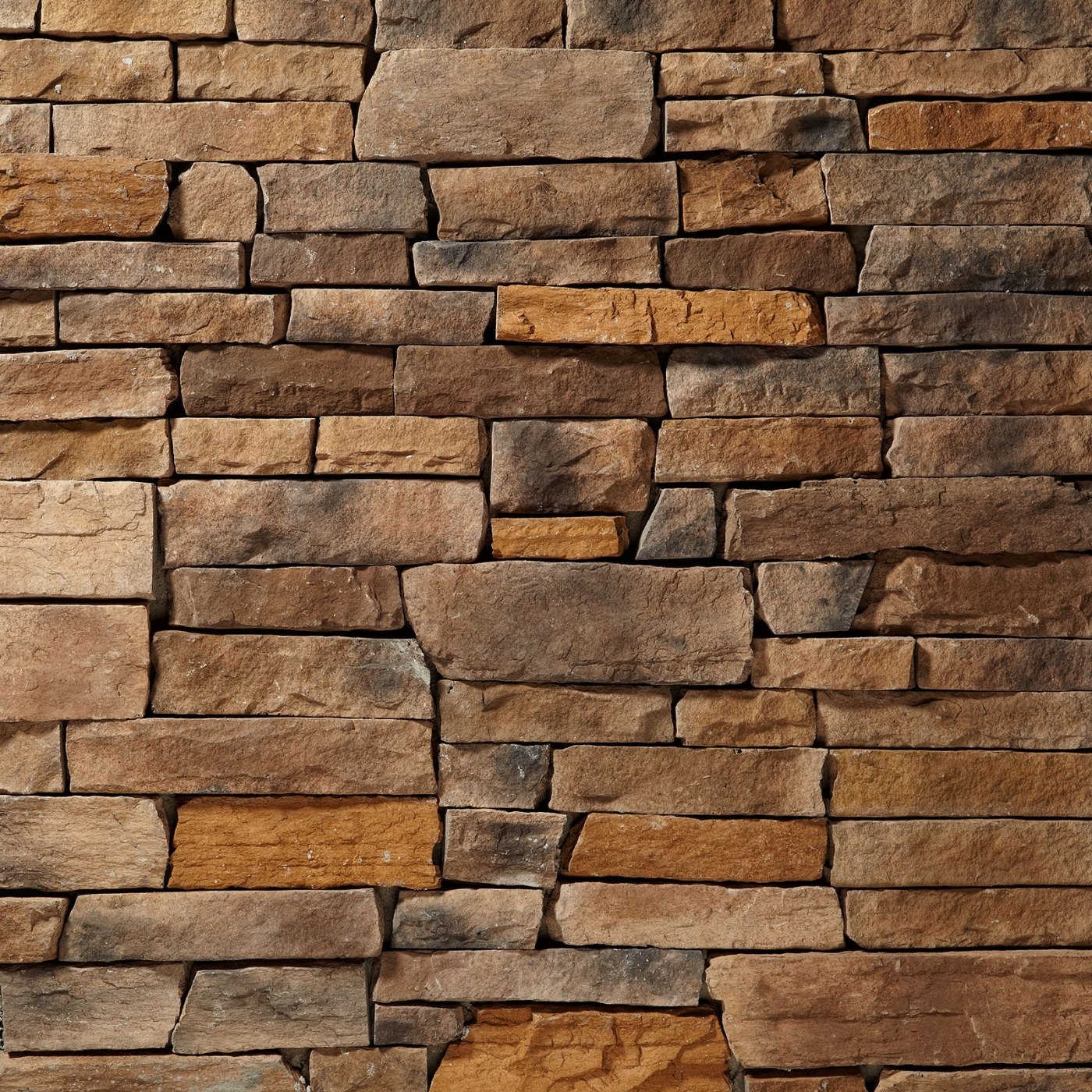 Mississippi Mountain Ledgestone Stone Veneer from Environmental StoneWorks