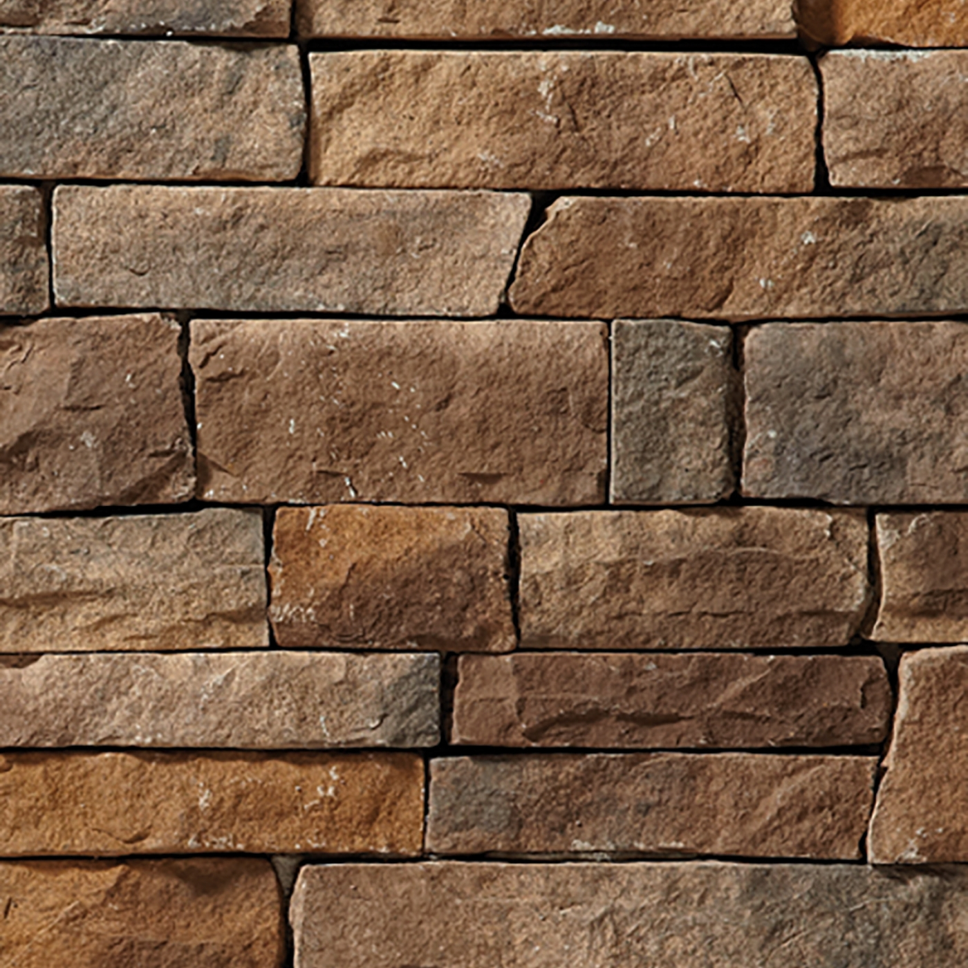 Mississippi Rubble Cut Stone Stone Veneer from Environmental StoneWorks