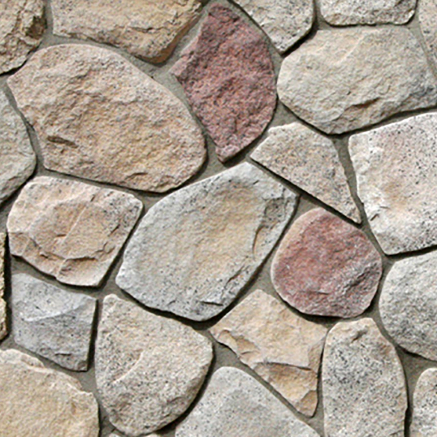 Northland Splitface Fieldstone Stone Veneer from Environmental StoneWorks