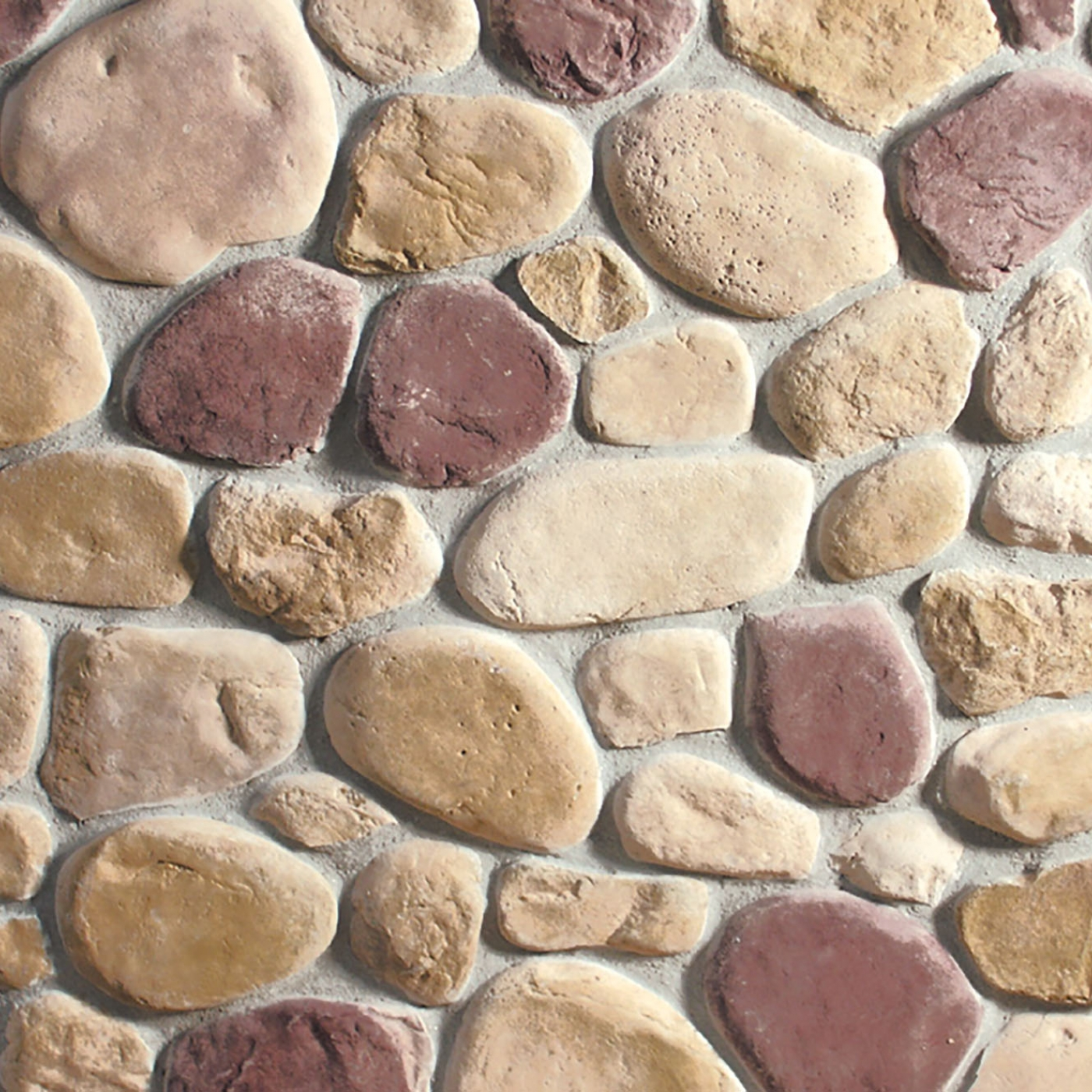 Pine Creek River Rock Stone Veneer from Environmental StoneWorks