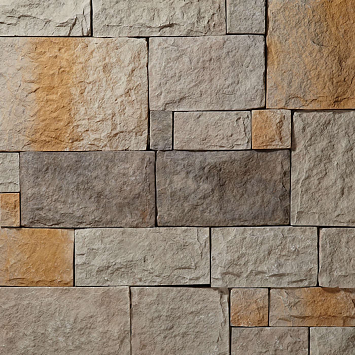 Sierra European Castle Stone Veneer from Environmental StoneWorks