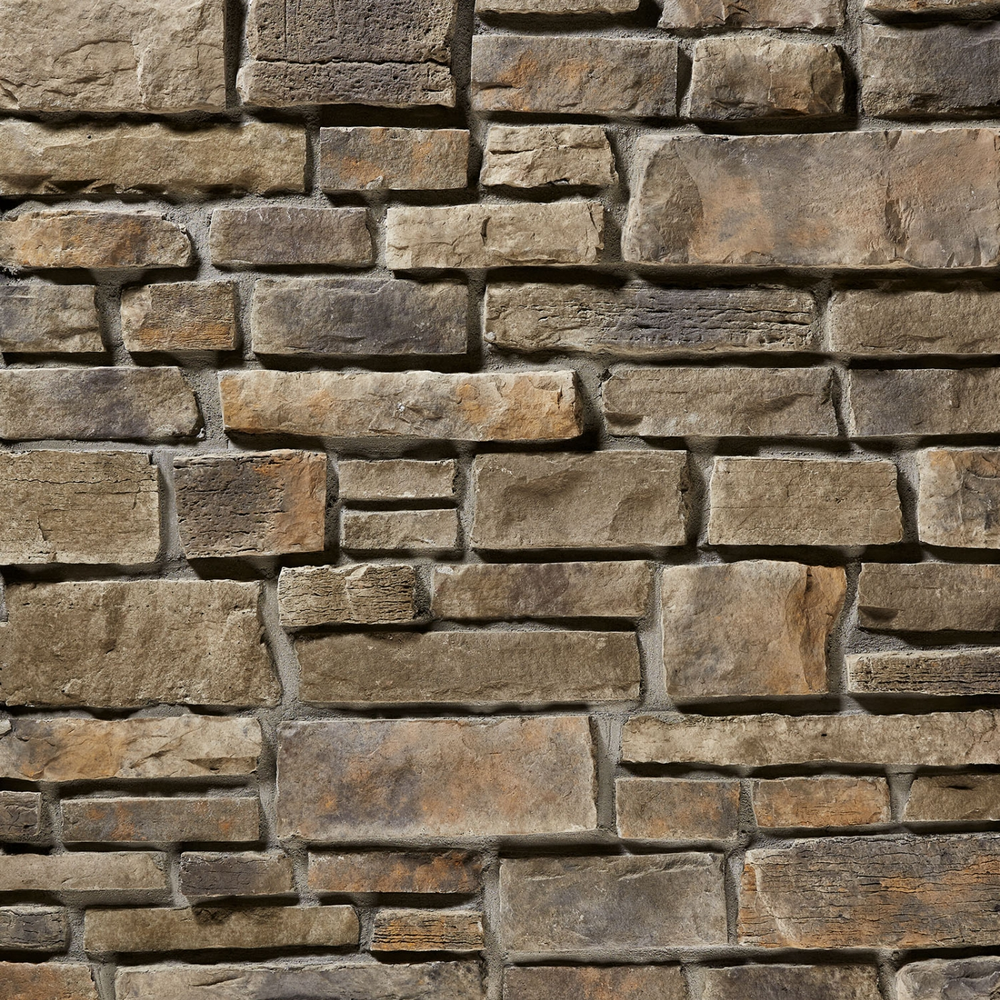 Silvermine Weather Edge Rubble Blend Stone Veneer from Environmental StoneWorks