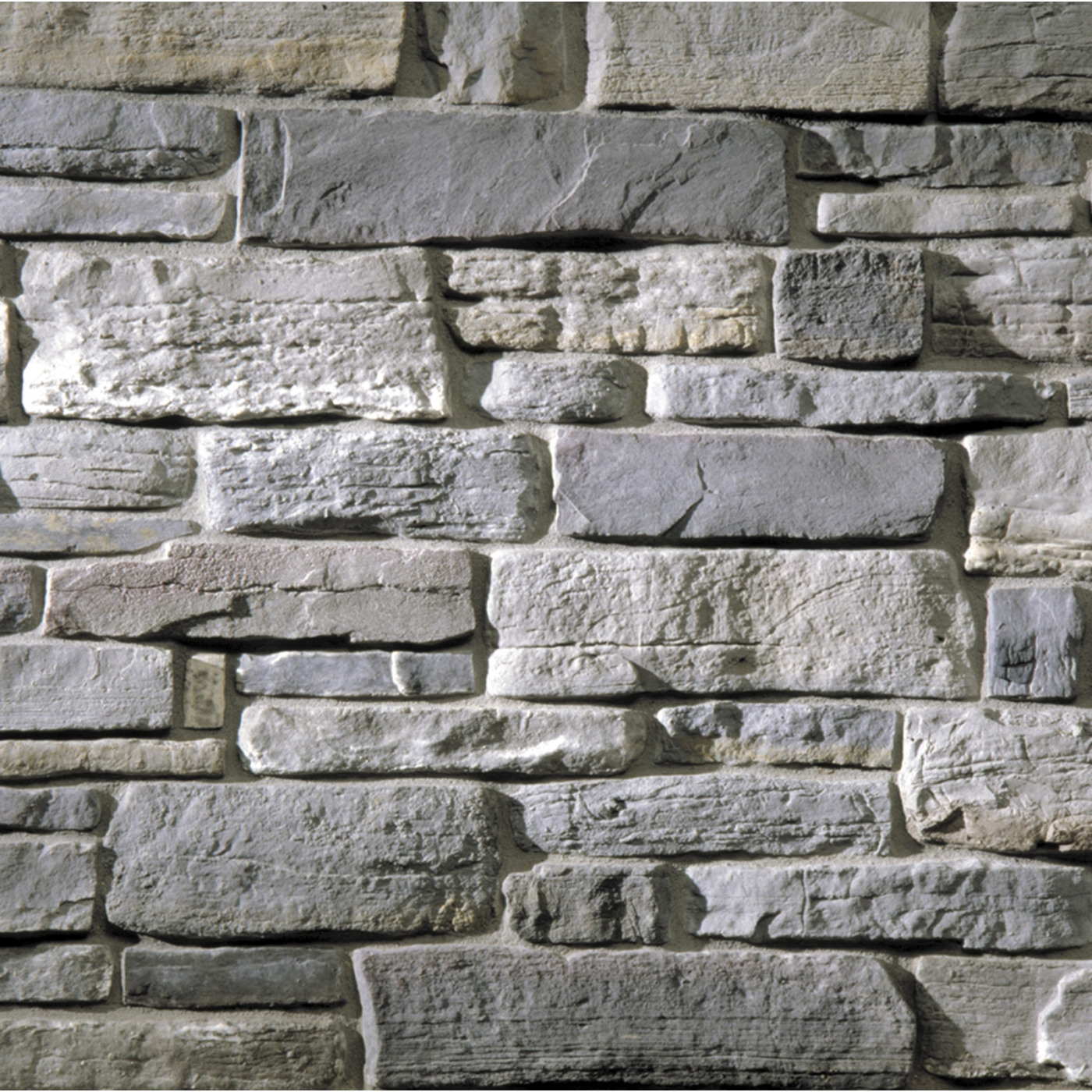 St. Croix Grey Weatherface Cut Stone Stone Veneer from Environmental StoneWorks