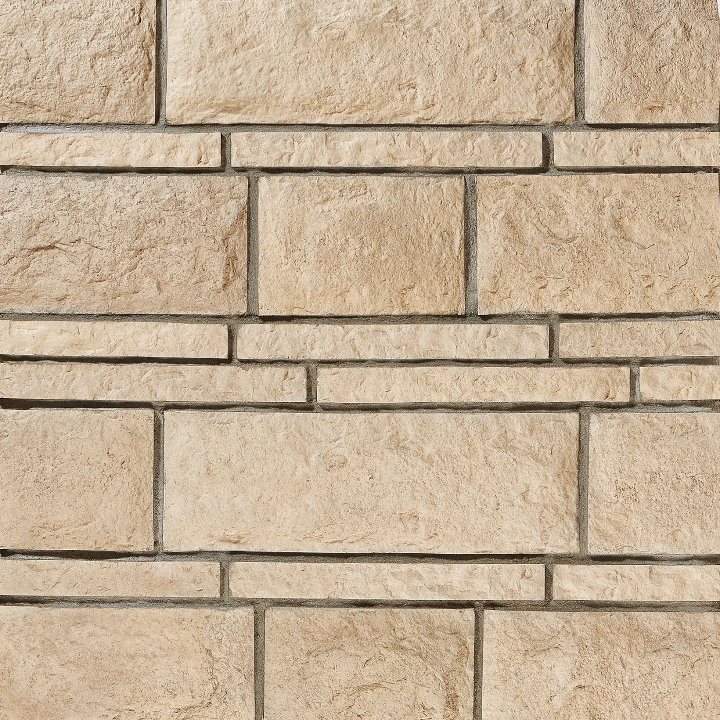Taupe Bugnato with Roccia Accento Stone Veneer from Environmental StoneWorks