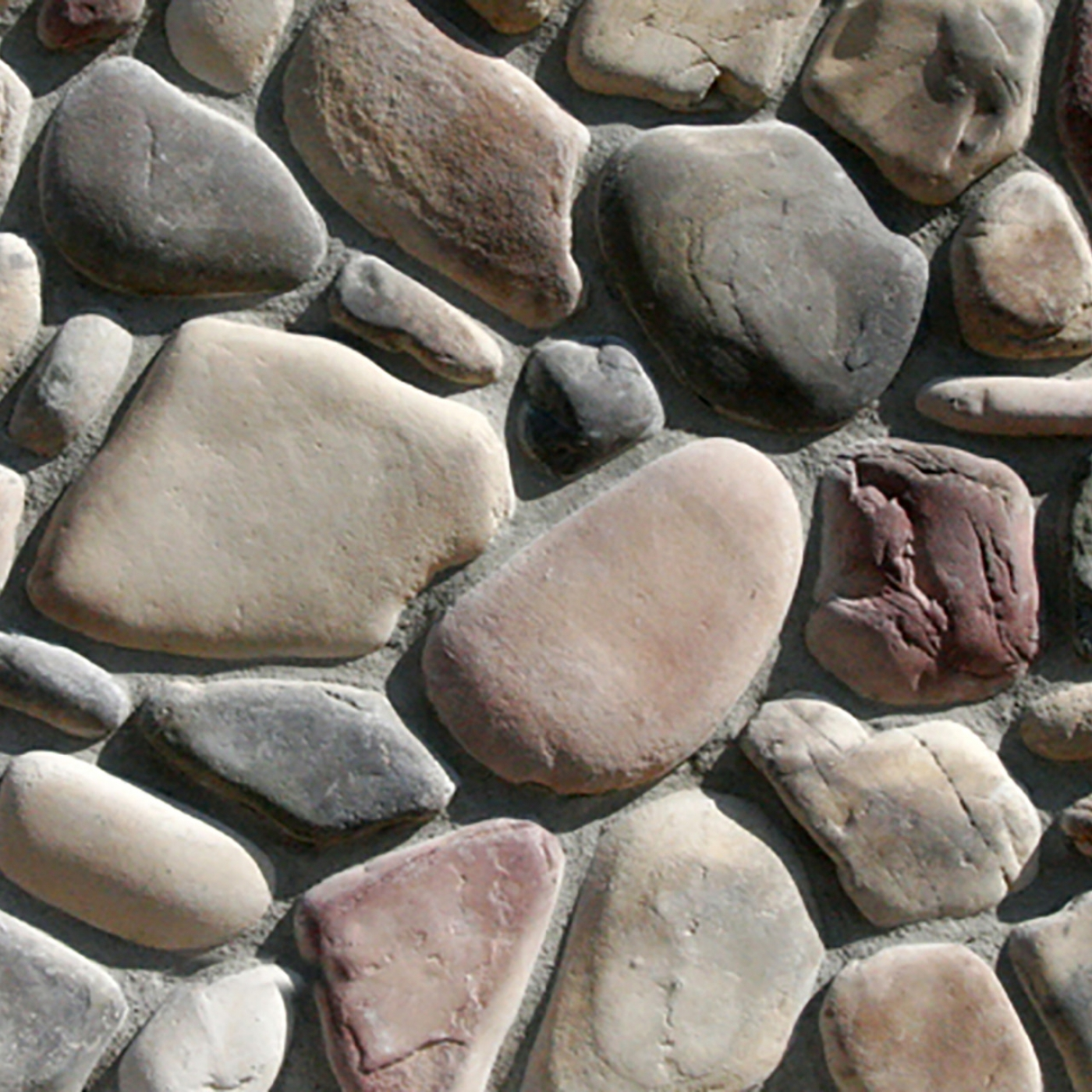 Teton Rocky Mountain River Rock Stone Veneer from Environmental StoneWorks