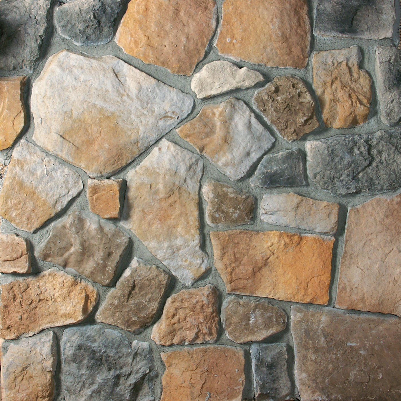 Valley Blend Fieldstone Stone Veneer from Environmental StoneWorks