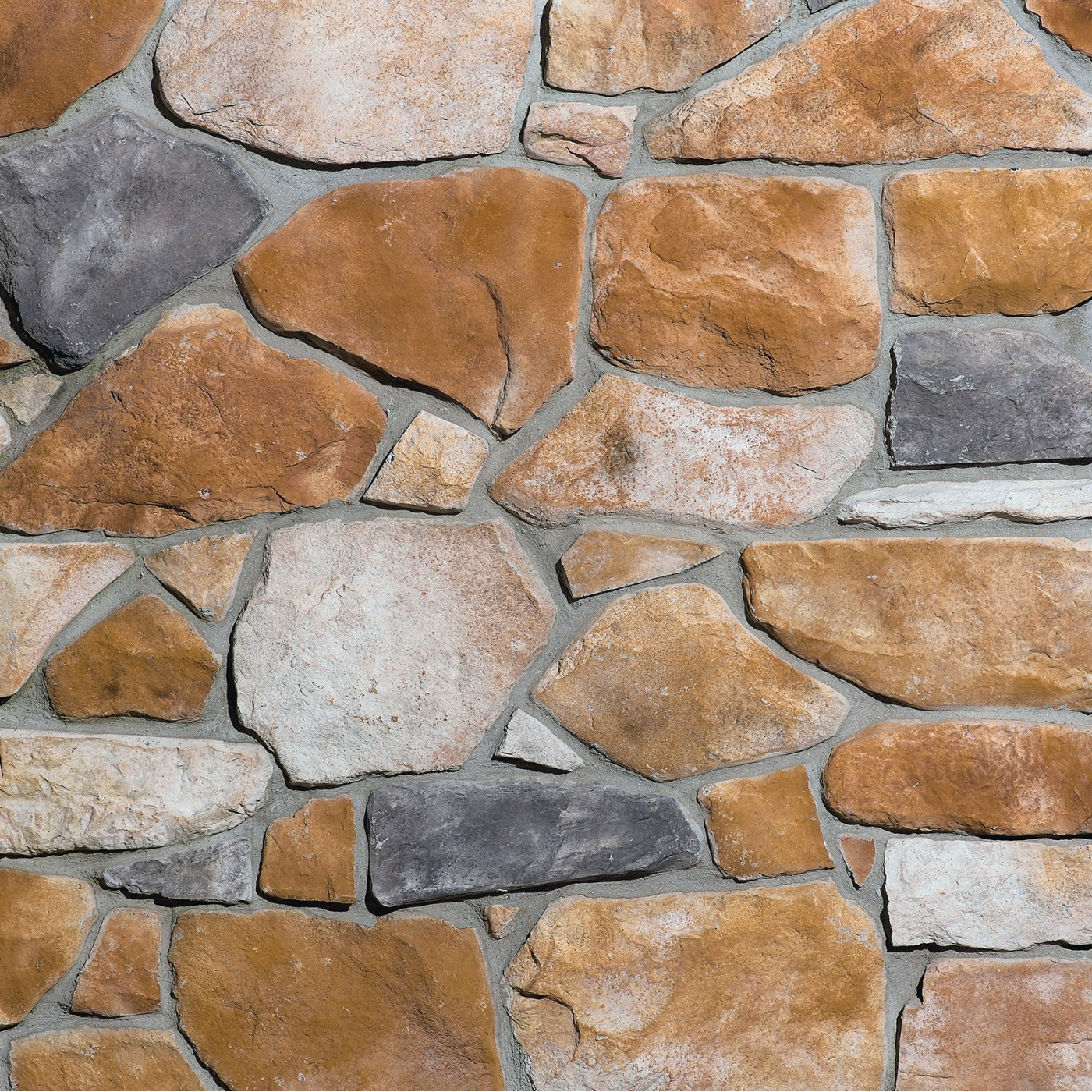Valley Brook Fieldstone Stone Veneer from Environmental StoneWorks