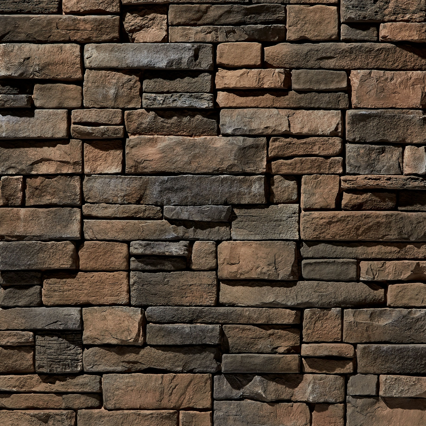 Walnut Mountain Ledgestone Stone Veneer from Environmental StoneWorks