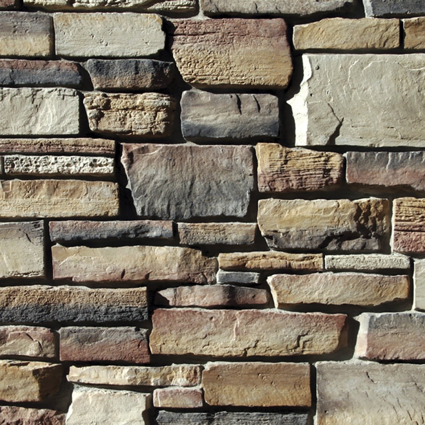 Wisconsin Blend Weatherface Cut Stone Stone Veneer from Environmental StoneWorks